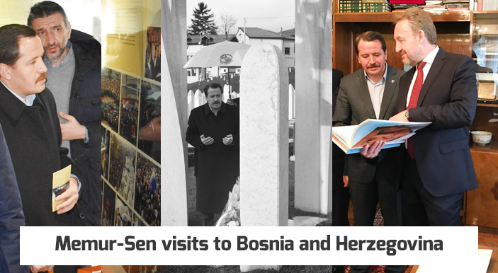 Memur-Sen visits to Bosnia and Herzegovina