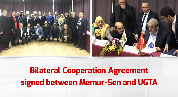 Bilateral Cooperation Agreement signed between Memur-Sen and UGTA