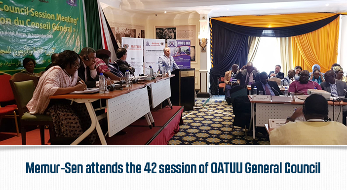 Memur-Sen attends the 42 session of OATUU General Council
