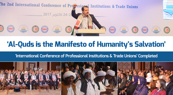 'International Conference of Professional Institutions & Trade Unions' Completed