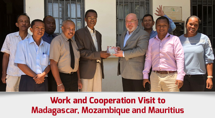 Work and Cooperation Visit to Madagascar, Mozambique and Mauritius