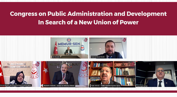 Congress on Public Administration and Development / In Search of a New Union of Power