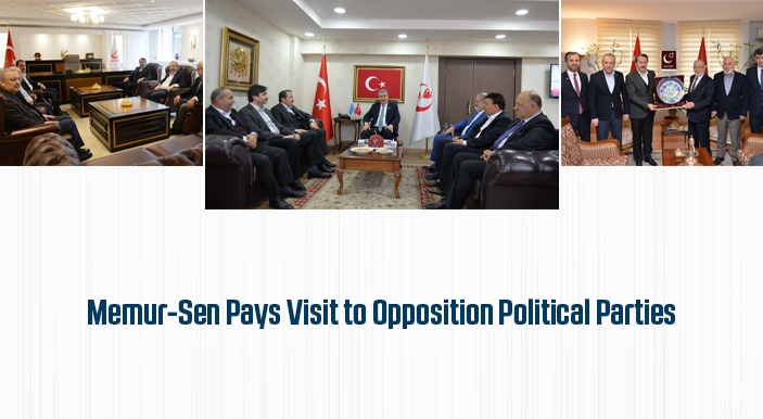 Memur-Sen Pays Visit to Opposition Political Parties