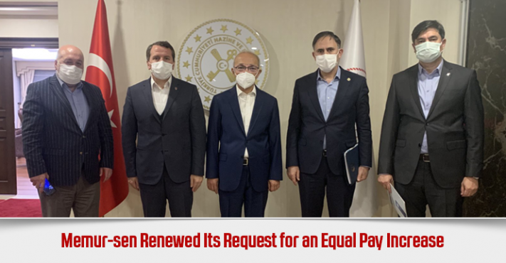Memur-sen Renewed Its Request for an Equal Pay Increase