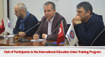 Visit of Participants to the International Education Union Training Program