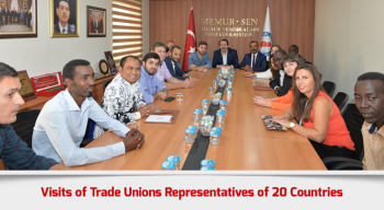 Visits of Trade Unions Representatives of 20 Countries
