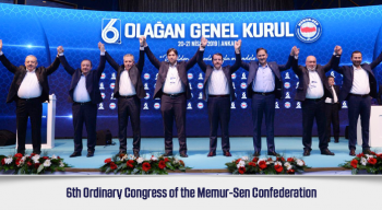 6th Ordinary Congress of the Memur-Sen Confederation