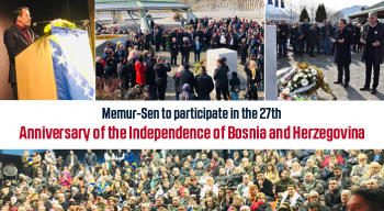 Memur-Sen to participate in the 27th Anniversary of the Independence of Bosnia and Herzegovina
