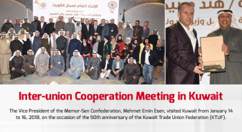 Inter-union Cooperation Meeting in Kuwait