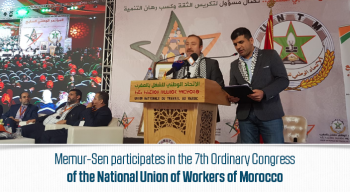 Memur-Sen participates in the 7th Ordinary Congress of the National Union of Workers of Morocco