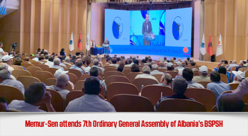 Memur-Sen attends 7th Ordinary General Assembly of Albania's BSPSH
