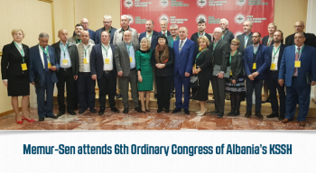 Memur-Sen attends 6th Ordinary Congress of Albania's KSSH