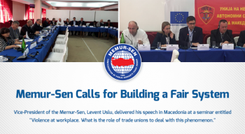 Memur-Sen Calls for Building a Fair System