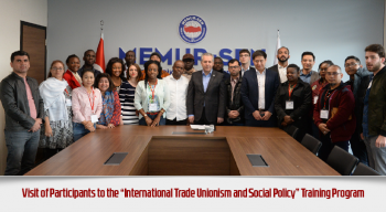"Visit of Participants to the ""International Trade Unionism and Social Policy"" Training Program"